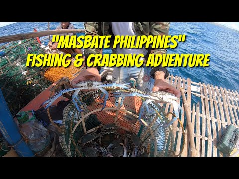 AWESOME !! HOW TO CATCH BLUE CRABS IN PHILIPPINES, CATCH&COOK INSIDE THE BOAT!!