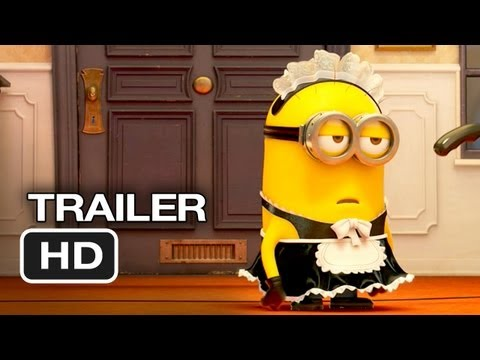Despicable Me 2 - Official Trailer #2 (2012) Steve Carell, Al Pacino Animated Movie HD
