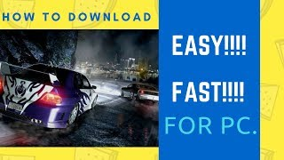 How To Download NFS CARBON For PC Full VERSION For FREE