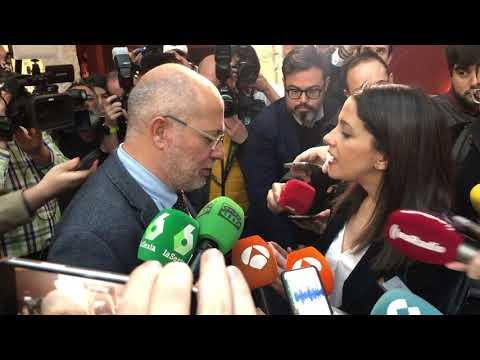Inés Arrimadas le dice a Francisco Igea que presente su candidatura