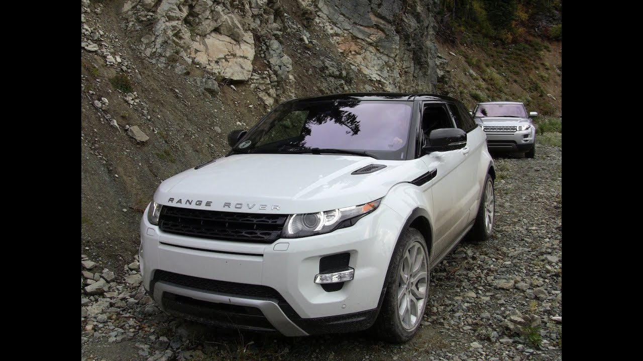 2012 range rover evoque off road first drive review youtube. Black Bedroom Furniture Sets. Home Design Ideas