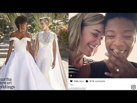 Lauren Morelli | Samira Wiley And Lauren Morelli | Samira Wiley And Lauren Morelli Wedding