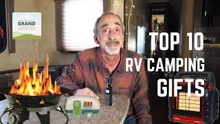 Ep. 128: Our Top 10 RV Camping Gifts