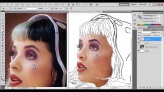 ♥ Melanie Martinez R O T O S C O P I N G [Speed Paint] ♥