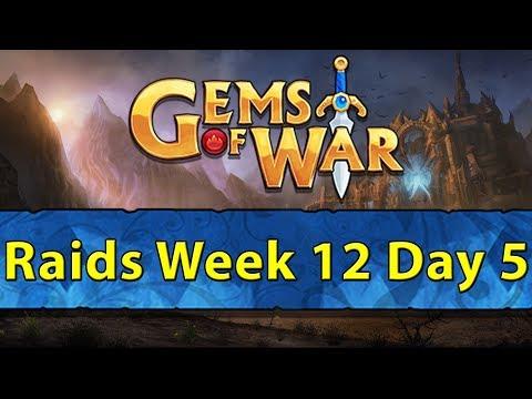 ⚔️ Gems of War Raids | Week 12 Day 5 | Pure Faction Sea of Sorrow Delves ⚔️