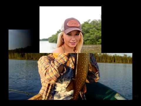 Сексуальные девушки на рыбалке