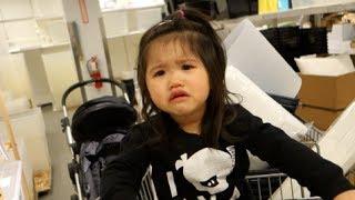 VLOG #205 - TODDLER FITS AT IKEA