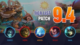 League of Legends Mobalytics Patch 9.4 Tier List: NEW Conqueror!