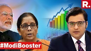 Big Steps Taken By The Modi Government To Benefit The Common Man   The Debate With Arnab Goswami