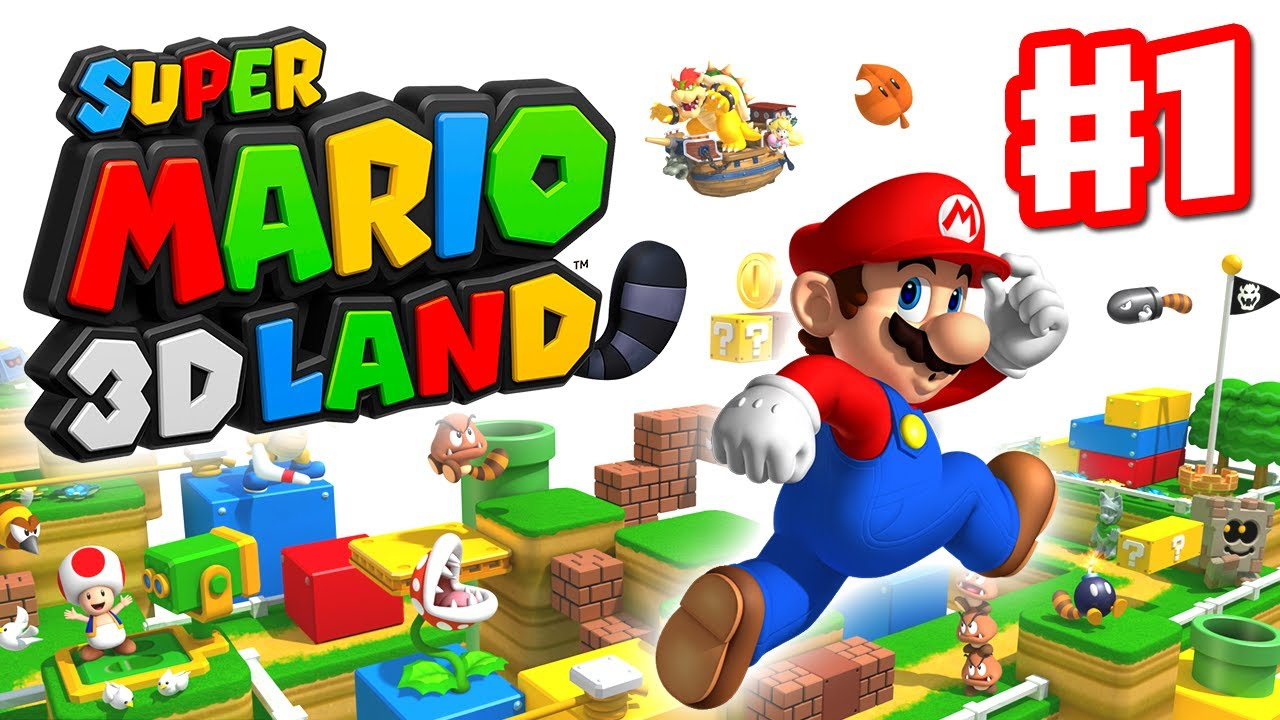 Super mario 3d land walkthrough part 1 world 1 for 3d walkthrough