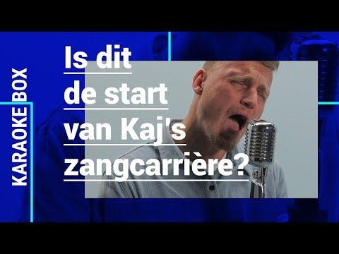 KAJ GORGELS doet GEWELDIGE cover van ANDRE HAZES JR.'s 'Leef' | Karaoke Box