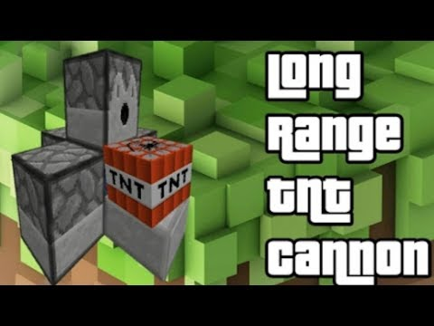 HOW TO MAKE A EASY RAPID TNT CANNON!!!
