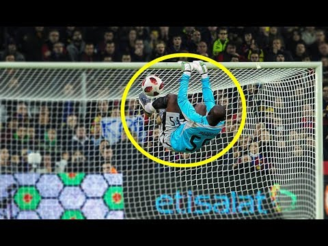 Top 10 Gymnastic Goalkeepers goal saves in Football ● HD