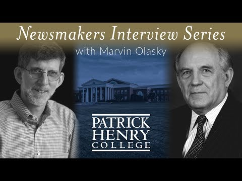 Patrick Henry College Newsmakers | Charles Murray