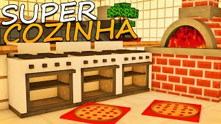 Minecraft: A Fazenda - Cozinha INDUSTRIAL