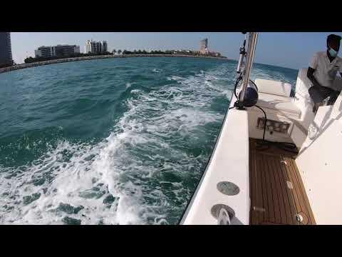 Dubai Marina, Blue Waters, Island Lagood, Burj Al Arab, Atlantis the Palm | Yacht Tour