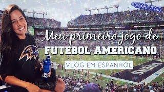 Baixar MEU PRIMEIRO JOGO DE FUTEBOL AMERICANO - Vlog Go Ravens