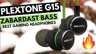 Plextone G15 Earphones Review | Best Bass & Beats Headphones