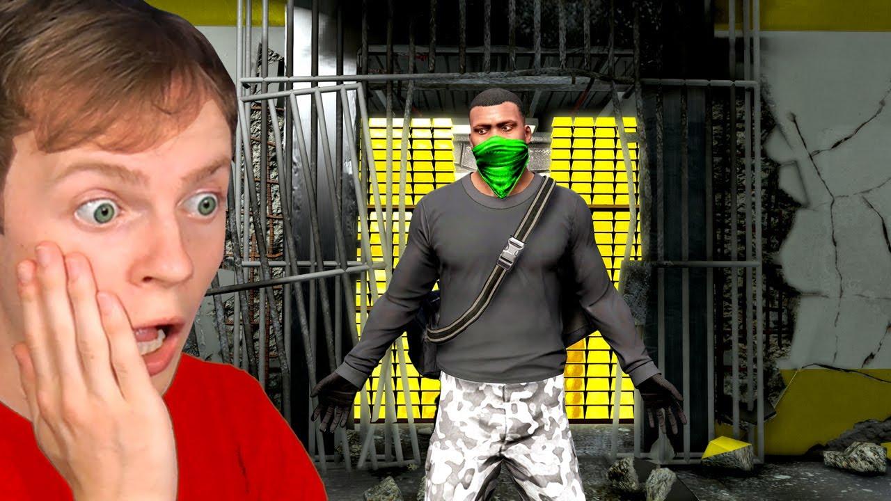 Download The MILLIONAIRE MONEY HEIST in GTA 5!