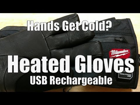 Milwaukee USB Rechargeable Heated Gloves | 561-21