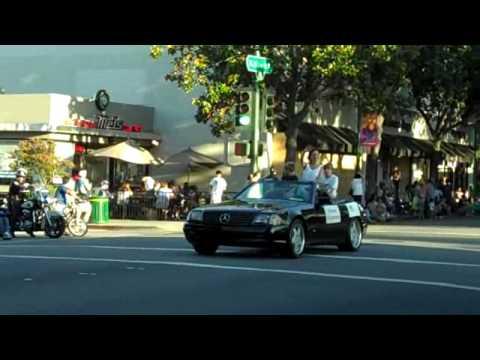 The Walnut Festival Parade in Walnut Creek CA