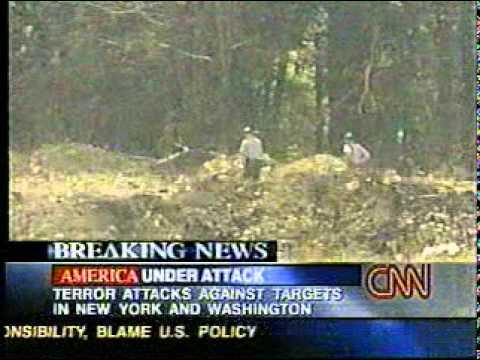 9/11 News Coverage:  10:03 AM: UA 93 Crashes in Pennsylvania