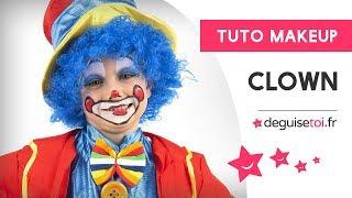 Tutoriel maquillage clown heureux - Deguisetoi.fr