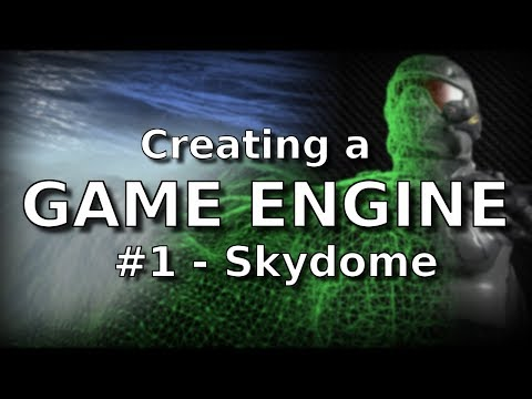 #1 Creating a Game Engine in Java and OpenGL - Skydome