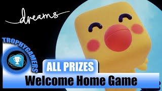 Dreams – All Prizes Locations for Welcome Home Game - Video Guide Walkthrough