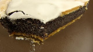 Thobens - Poppy Seed Cake  Mohnkuchen