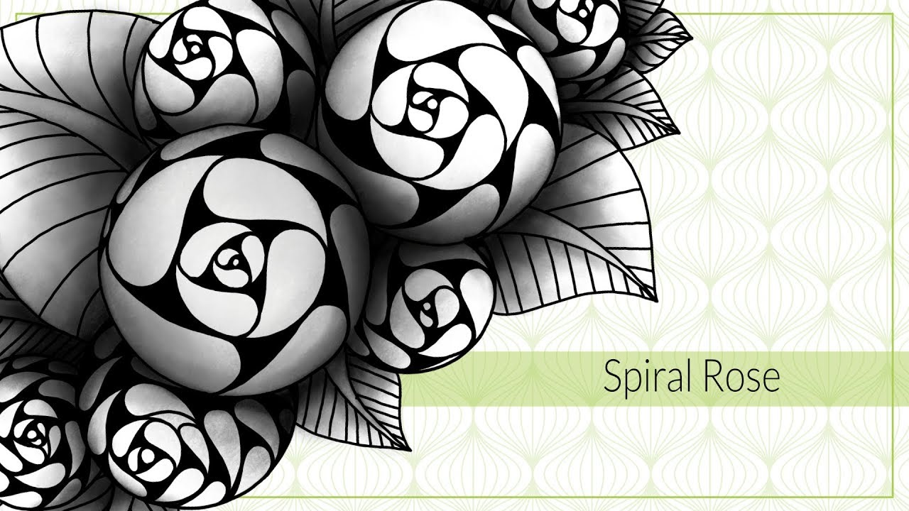 Spiral Rose Youtube