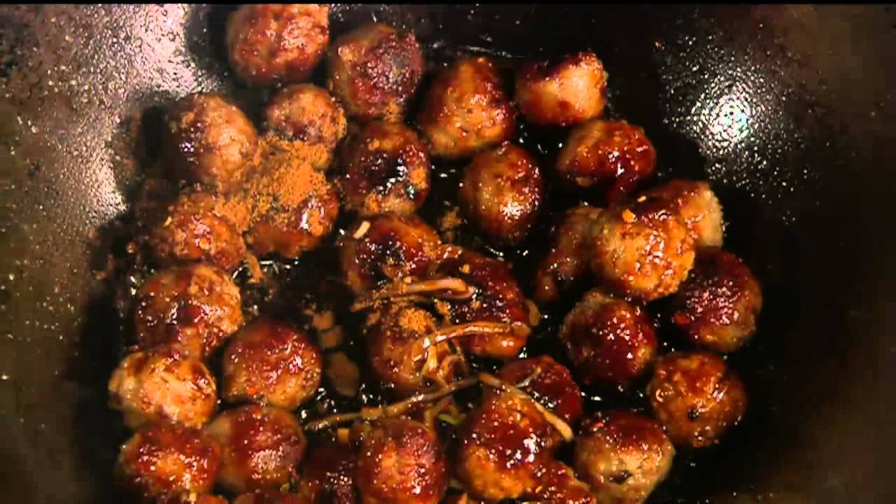 Flaming Cambodian Meatballs | KCTS 9 Cooks: Kitchen ... | 1280 x 720 jpeg 114kB