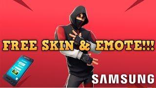 Fortnite - IKONIK SKIN & SCENARIO EMOTE!!! - FREE!!!! - Samsung S10 & S10+ Promo