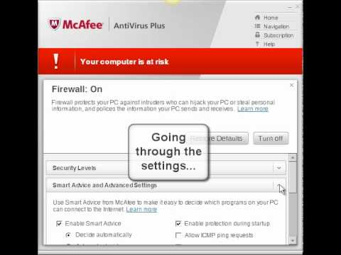 Mcafee Real Time Scanning Keeps Turning Off