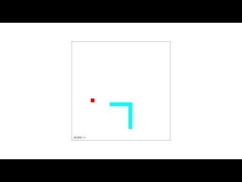 Snake Game - HTML5 Game Programming Tutorial [javascript]