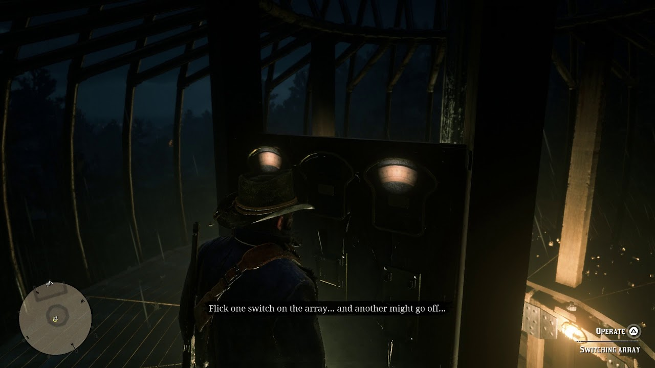 Red Dead Redemption 2 - A Bright Bouncing Boy II: Climb The Tower Array Switches Puzzle (2018)