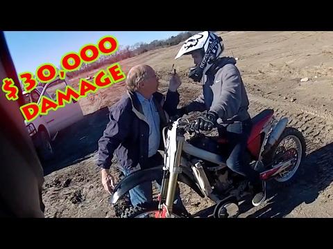 Stupid, Crazy & Angry People Vs Bikers 2017 | ANGRY MAN VS DIRTBIKERS [EP.#55]