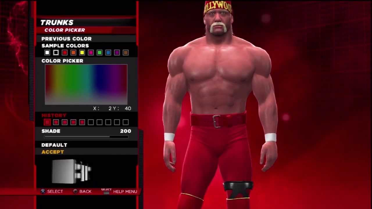 wwe 2k14 superstar threads hollywood hulk hogan 2003 ring