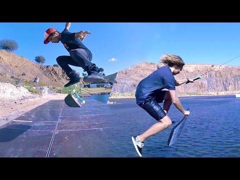 GoPro Game of S.K.A.T.E. - Wakeskating VS Skateboarding