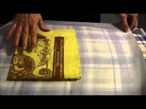 Fusing plastic bags video