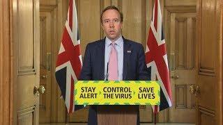 Live: Matt Hancock leads UK government's daily coronavirus briefing - June 1   ITV News