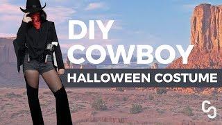 DIY Cowboy Costume (Halloween)