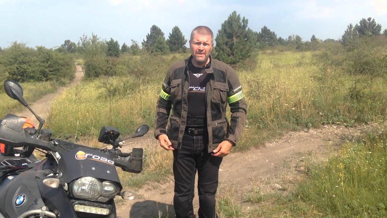 A legszellősebb túrakabát és egy jó kis motoros táska