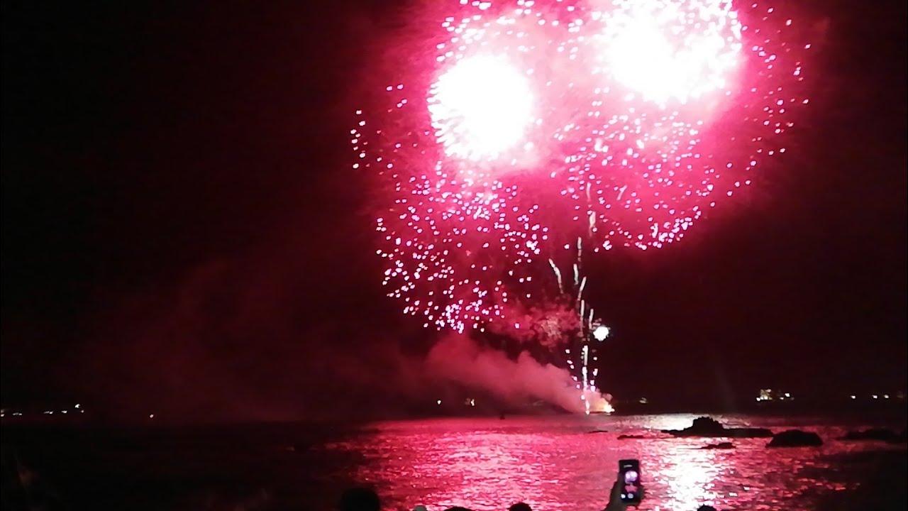 Fuegos Artificiales 2019 Termino Vina Del Mar Caleta Abarca Youtube