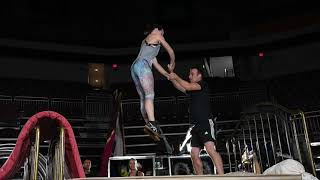 Watch Cirque Du Soleil performers practice for show in Hershey [video]