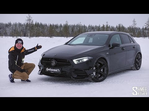 The Brabus B35S AMG A35 is a Winter Pocket Rocket!