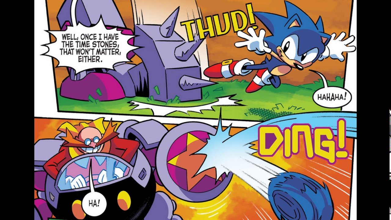 Sonic The Hedgehog Issue 290 Youtube