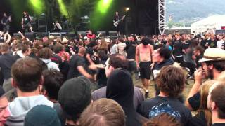 wall of death - Suicide Silence @ Greenfield Festival 2011
