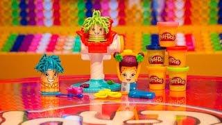 Сумасшедшие прически | Crazy Cuts - Play-Doh - Hasbro(Купить этот набор можно в нашем интернет-магазине игрушек TOYSBAND.RU http://toysband.ru/catalog/dlja-detskogo-tvorchestva/plastilin-play-doh/igrovo., 2015-09-10T15:07:04.000Z)