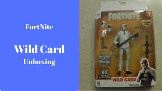 Fortnite Action Figure Toy Wild Card Unboxing